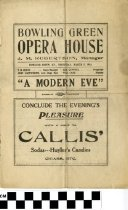 "Image of ""A Modern Eve"" play program, 1914"