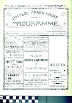 Image of Potters' Opera  House program