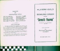 "Image of ""Seventh Heaven"" play program, front"