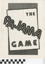 "Image of ""The Pajama Game"" play program"
