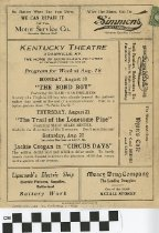 "Image of ""The Bond Boy"" play program"