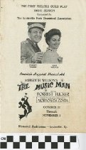 "Image of ""The Music Man"" play program, 1960"