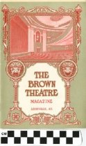 Image of The Brown Theatre Magazine, 1927