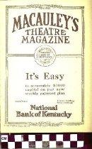 Image of Macauley's Theatre Magazine