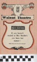 Image of Walnut Theater Magazine