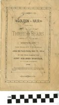 """Image of """"Golden Hair and the Three Bears"""" play program"""