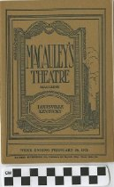 Image of Macauley's Theatre Magazine
