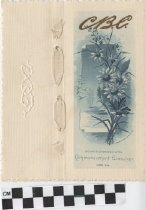Image of Commencement Exercises program, 1889