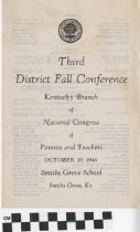 Image of third district conference pta program