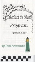 Image of Take Back The Night Program