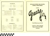 "Image of ""Grease"" play program"