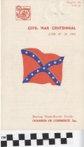 Image of Civil War Centennial Program
