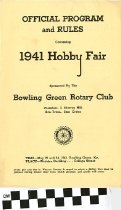 Image of 1941 Hobby Fair Front