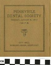 Image of Pennyrile Dental Society 1917