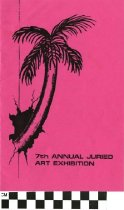 Image of 7th Annual Juried Art Exhibition program