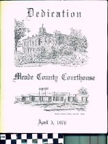Image of Dedication Meade County Courthouse program
