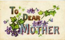 Image of To Dear Mother -