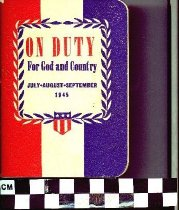 Image of On Duty for God and Country booklet