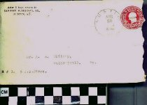 Image of Envelope from Robert Harrison Jr.