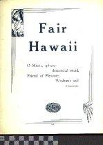 Image of Fair Hawaii - Searles, Mort