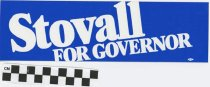 Image of Stovall for Governor