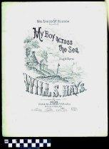 Image of My boy across the sea - Hays, Will. S. 1837-1907.  (William Shakespeare),