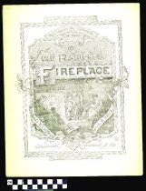 Image of Old fashioned fire-place - Hays, Will. S. 1837-1907.  (William Shakespeare),