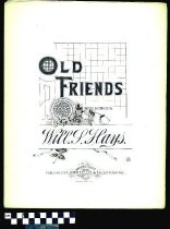 Image of Old friends - Hays, Will. S. 1837-1907.  (William Shakespeare),