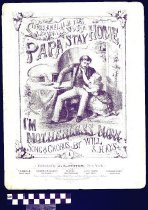 Image of Papa, stay home, I'm motherless now! - Hays, Will. S. 1837-1907.  (William Shakespeare),