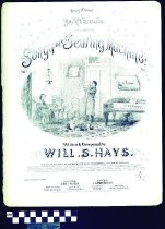 Image of Song of the sewing machine - Hays, Will. S. 1837-1907.  (William Shakespeare),