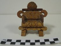 Image of 2008.201.13 - carved miniature chair