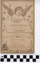 Image of Memorial Card, 1889