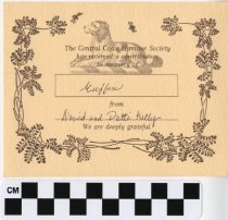 Image of Memorial Card for Muffin