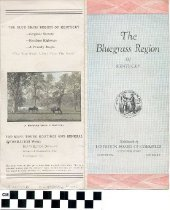 Image of The Bluegrass Region pamphlet