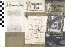 Image of Beaumont Inn brochure