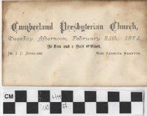 Image of Wedding Invitation 1874