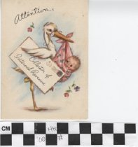 Image of Attention Greeting Card