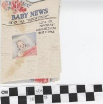 Image of Baby News Greeting Card