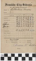 Image of Report Card Gilbertine Moore 1928