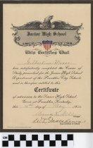 Image of Diploma of Gilbertine Moore