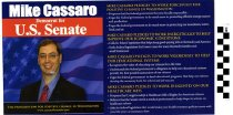 Image of Mike Cassaro, Democrat, for US Senate