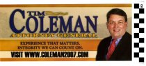 Image of Tim Coleman for Attorney General