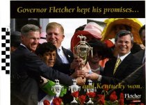 Image of Governor Fletcher Keeps his Promises and Kentucky Won