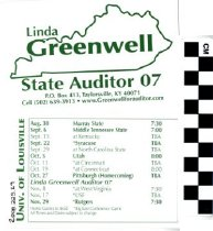 Image of Linda Greenwell State Auditor