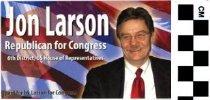 Image of John Larson, Republican for Congress
