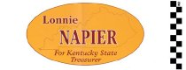 Image of Lonnie Napier for Kentucky state Treasurer