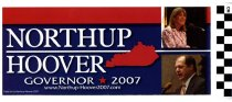 Image of Northup and Hoover for Governor