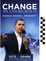 Image of Barack Obama for President: Change we can Believe in