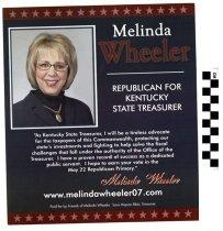 Image of Melinda Wheeler: Republican: State Treasurer