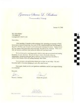 Image of Letter from Steve Beshear and Dan Mongiardo thanking Julius Rather